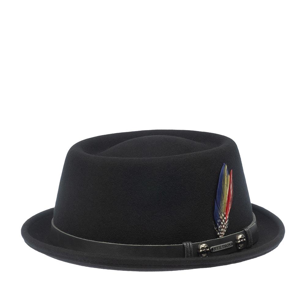 Шляпа STETSON арт. 1698107 PORKPIE (черный)