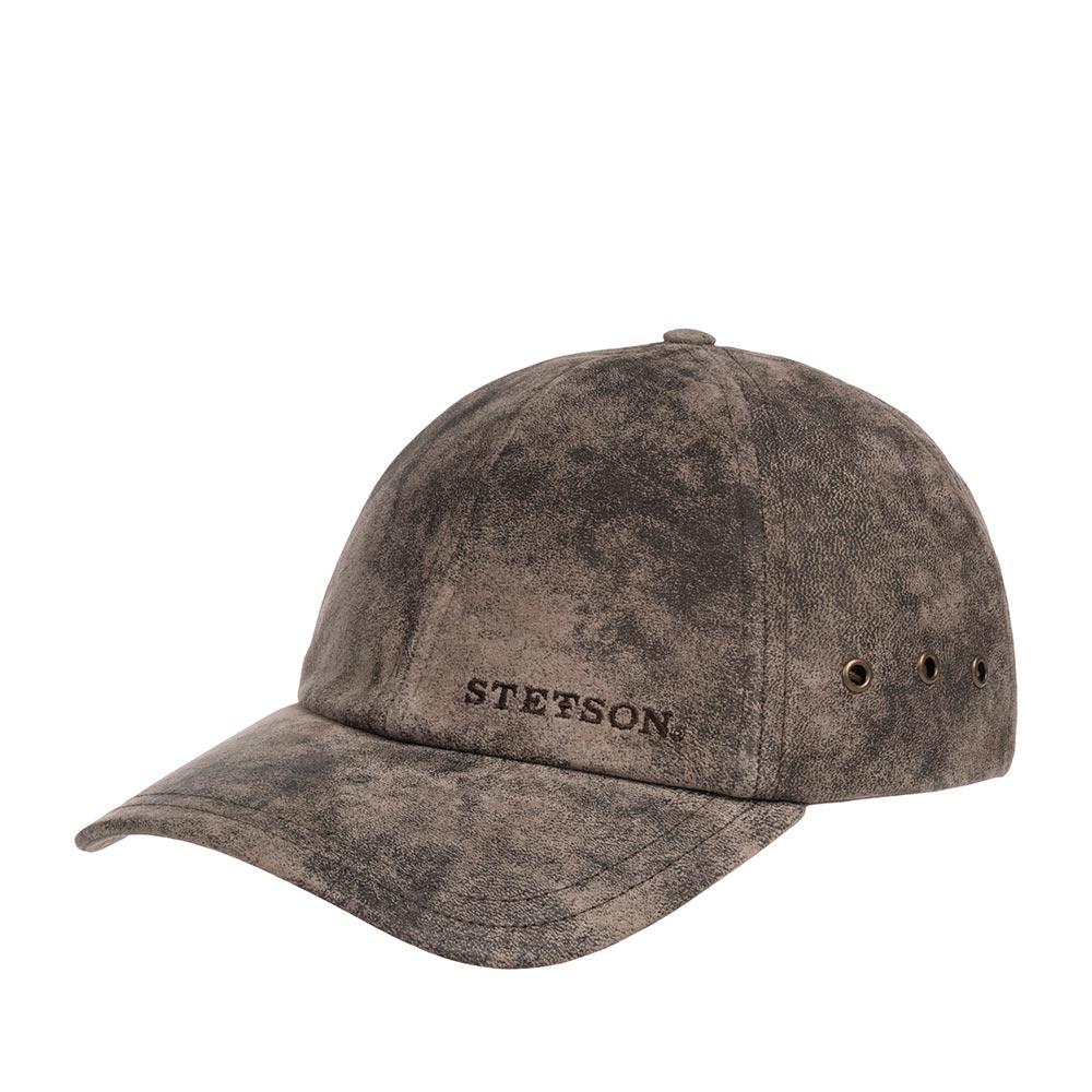 Бейсболка STETSON арт. 7717105 RAWLINS (темно-коричневый)