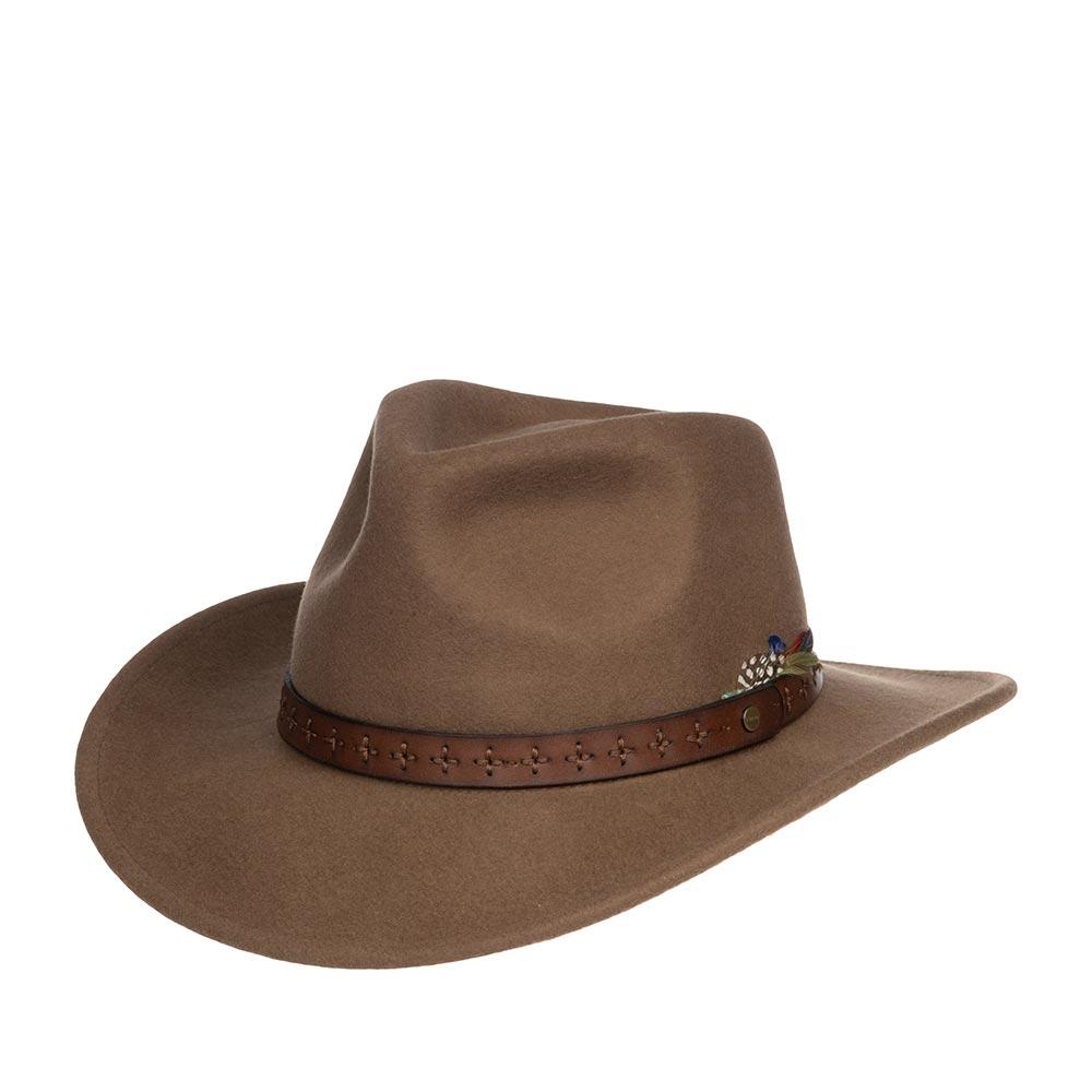Шляпа STETSON арт. 2798113 OKLAHOMA (светло-коричневый)