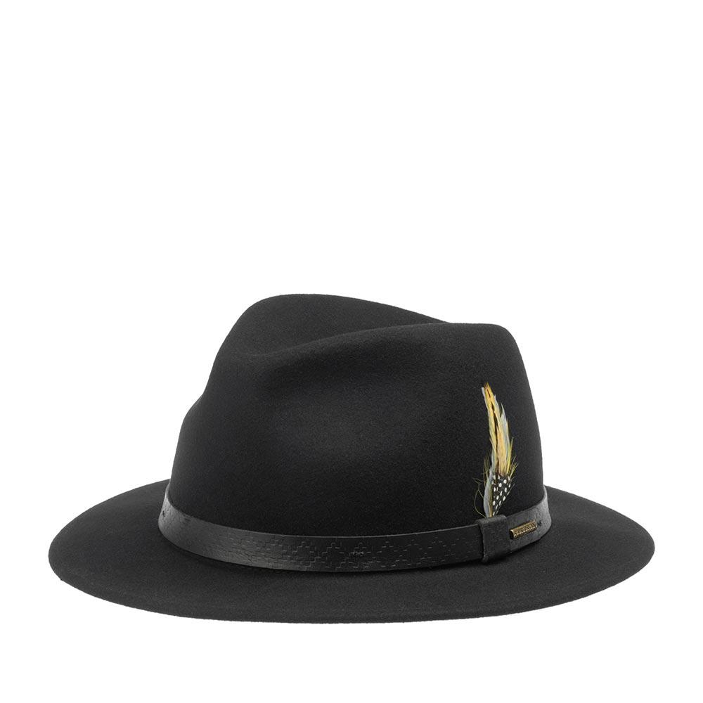 Шляпа STETSON арт. 2528108 TRAVELLER WOOLFELT (черный)
