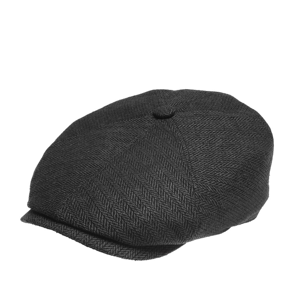 Кепка STETSON арт. 6642501 6-PANEL CAP SILK (темно-серый)