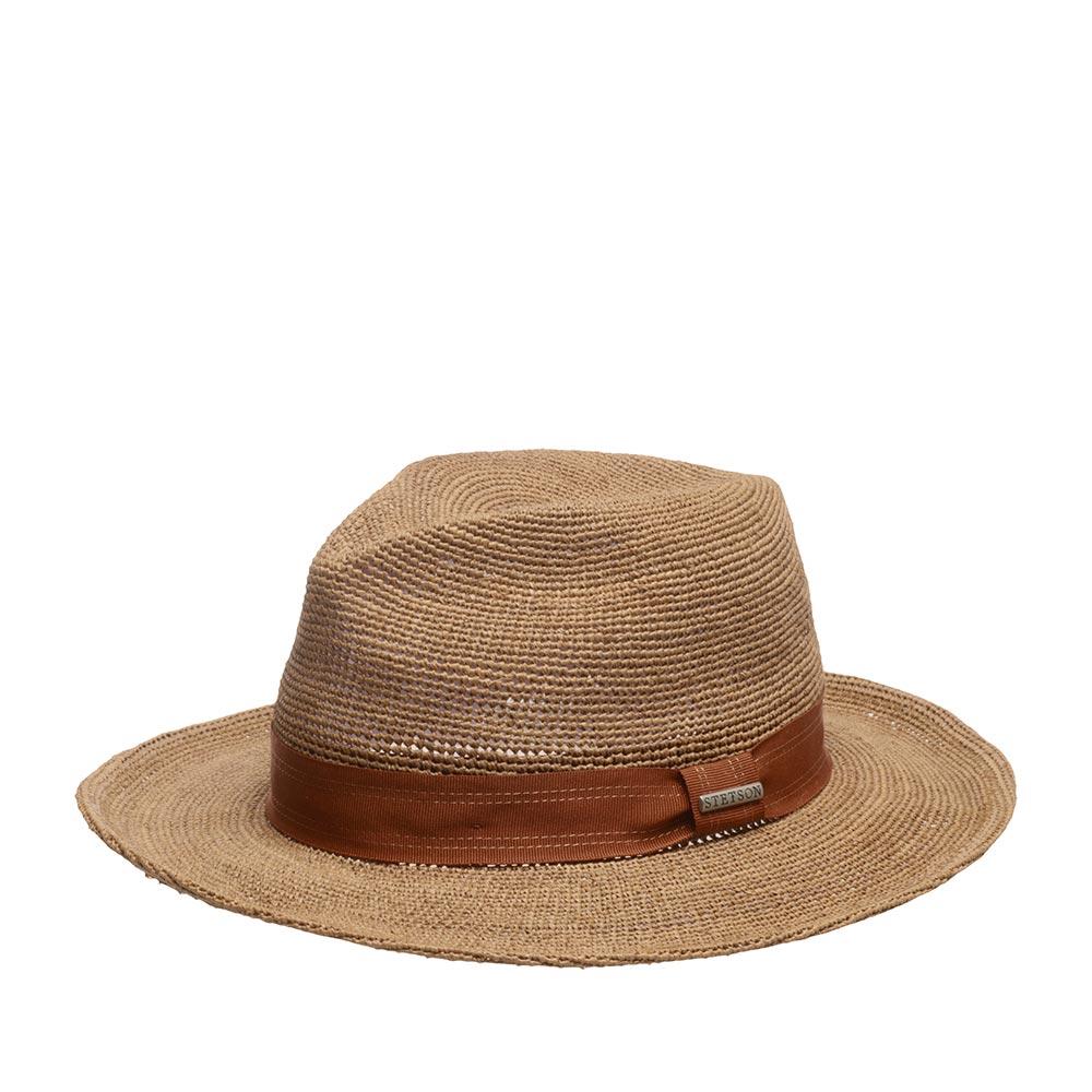 Шляпа STETSON арт. 2478517 TRAVELLER RAFFIA CROCHET (бежевый)
