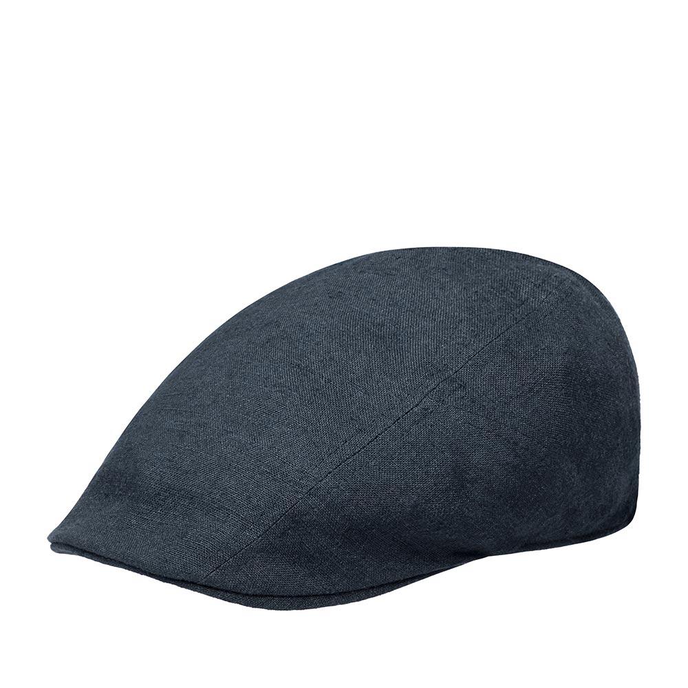 Кепка STETSON арт. 6173108 IVY CAP LINEN SILK (темно-синий)
