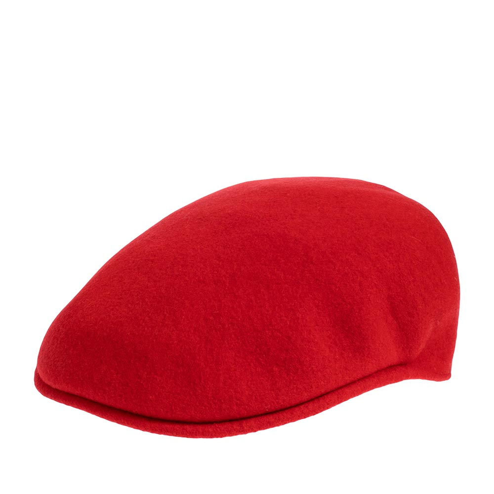 Кепка KANGOL арт. 0258BC Wool 504 (красный)