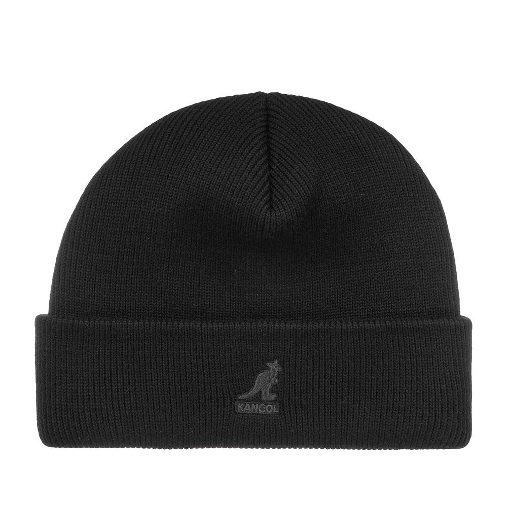 Шапка KANGOL арт. 2978BC Acrylic Cuff Pull-On (черный / черный)