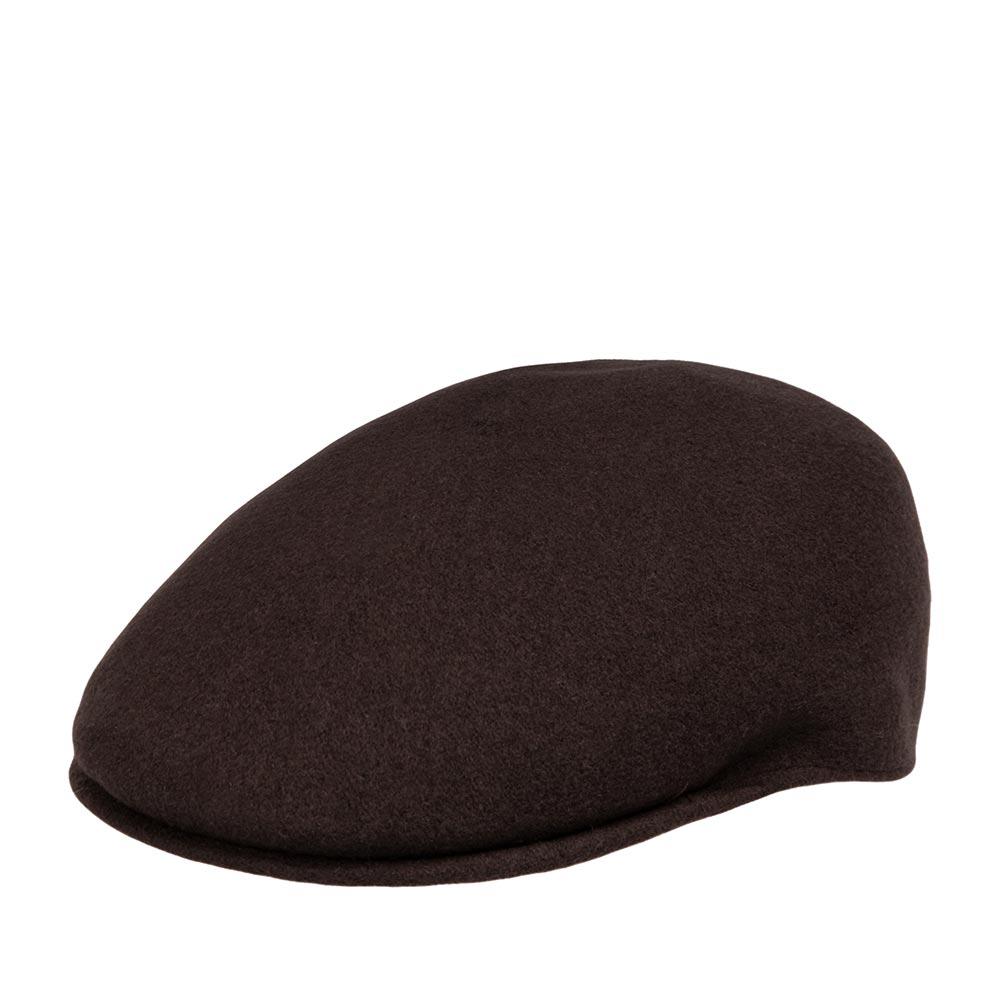 Кепка KANGOL арт. K0875FA Seamless Wool 507 (темно-коричневый)