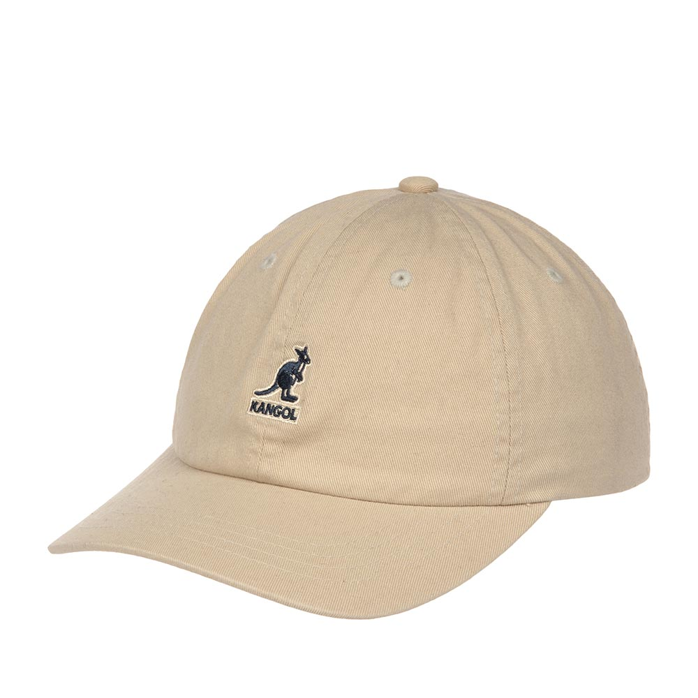 Бейсболка KANGOL арт. K5165HT Washed Baseball (бежевый)