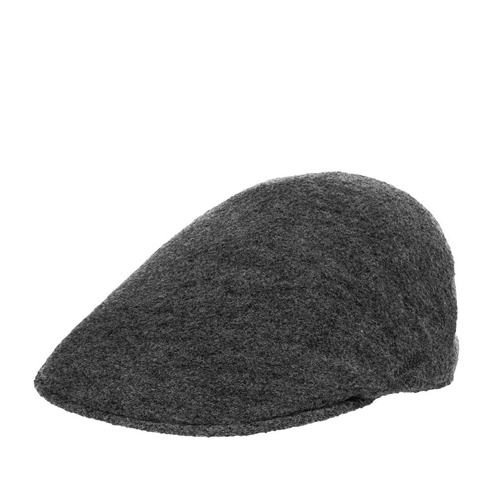 Кепка KANGOL арт. K3175HT Boiled Wool Earlap 507 (темно-серый)