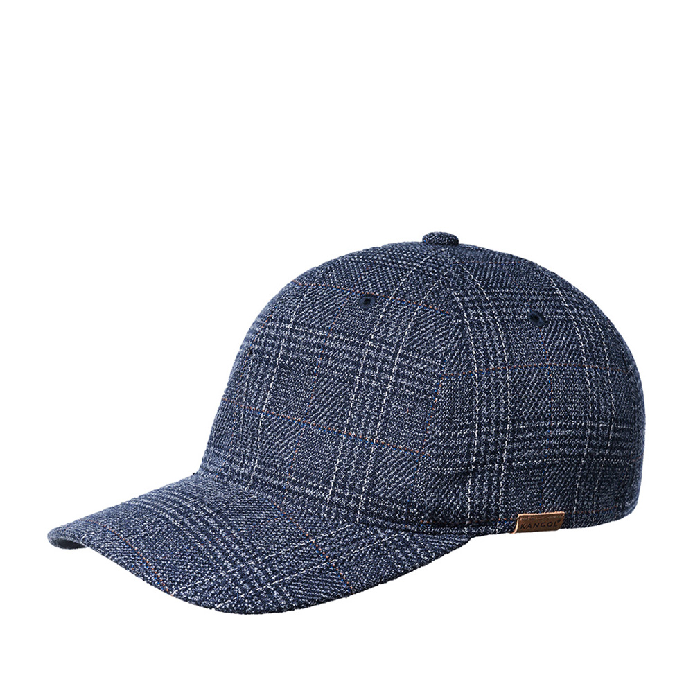 Бейсболка KANGOL арт. K5143HT Pattern Flexfit Baseball  (темно-синий)