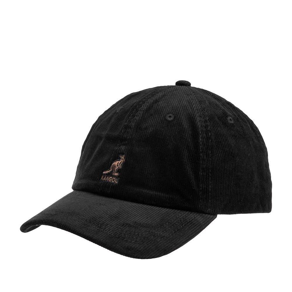 Бейсболка KANGOL арт. K5206HT Cord Baseball (черный)