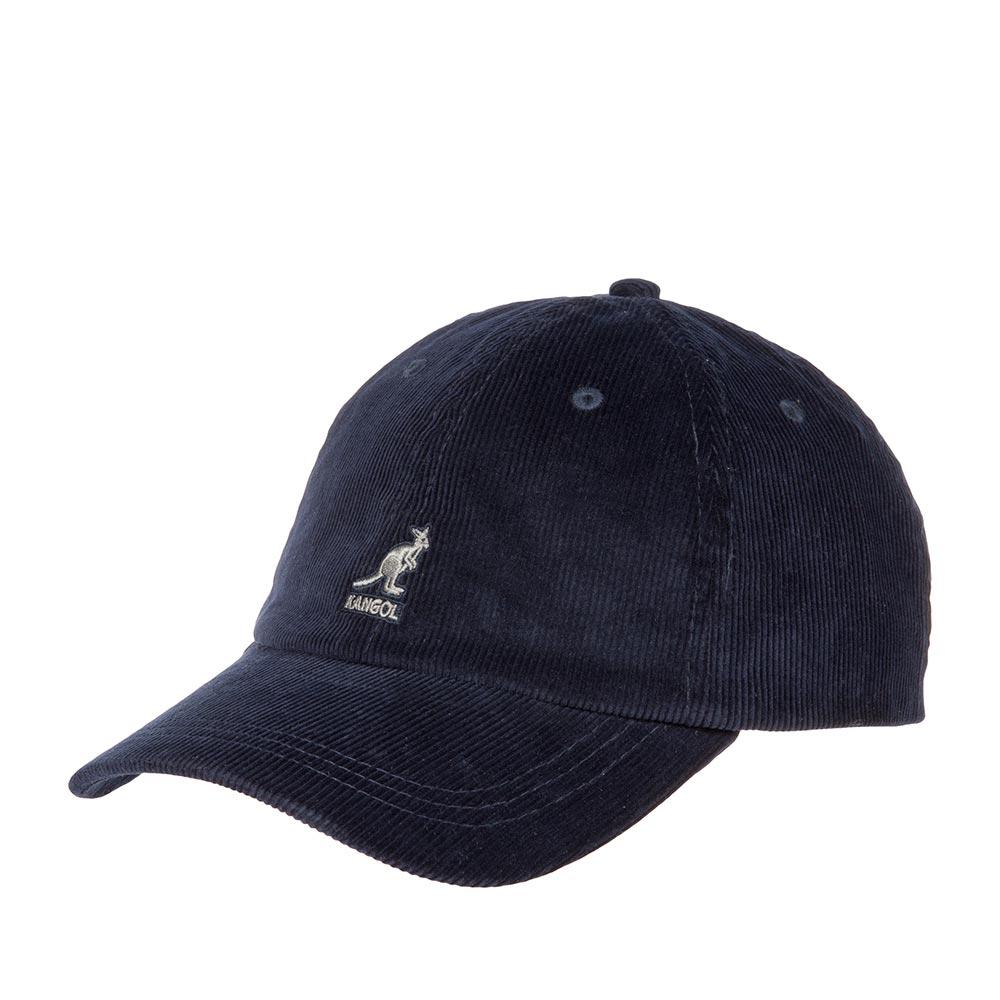 Бейсболка KANGOL арт. K5206HT Cord Baseball (темно-синий)
