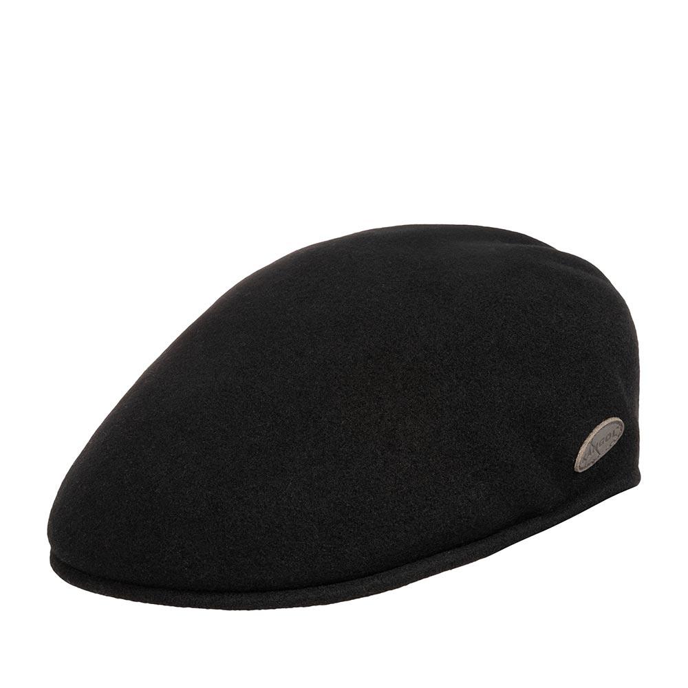 Кепка KANGOL арт. 0238KG Wool 504 Earlap (черный)