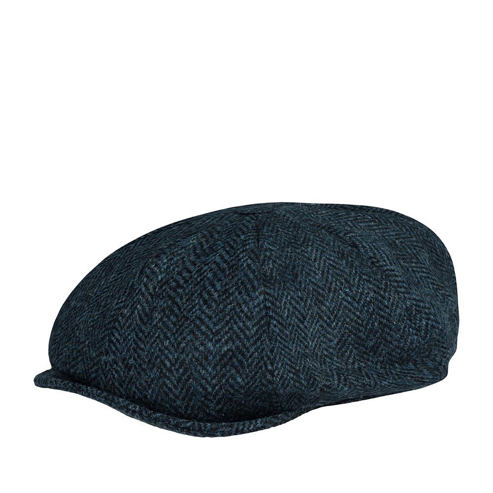 Кепка HANNA HATS арт. Newsboy 20B2 (черный / синий)