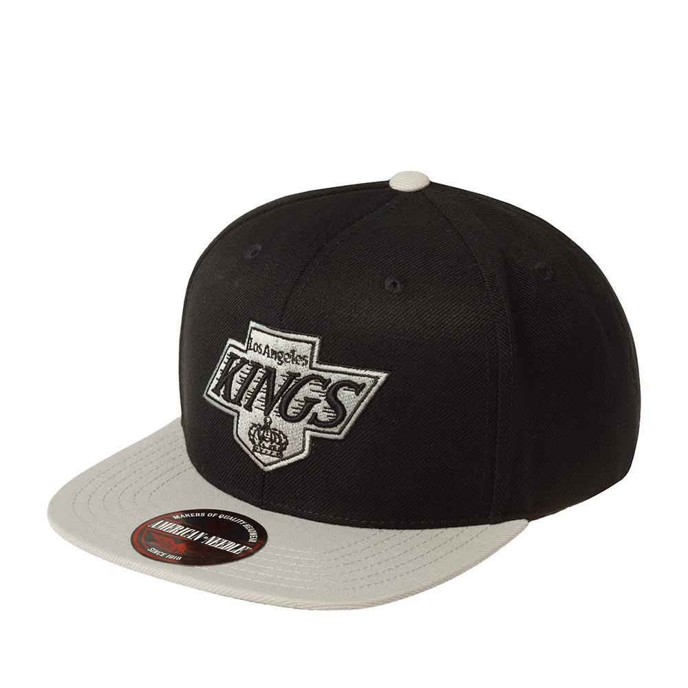 Бейсболка AMERICAN NEEDLE арт. 400A1V-LAK Los Angeles Kings 400 Series NHL (черный / серый)