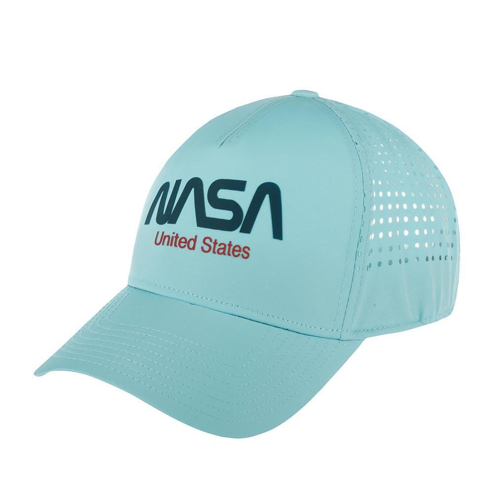 Бейсболка AMERICAN NEEDLE арт. 21002A-NASA Space with NASA Pacific Coast (голубой)