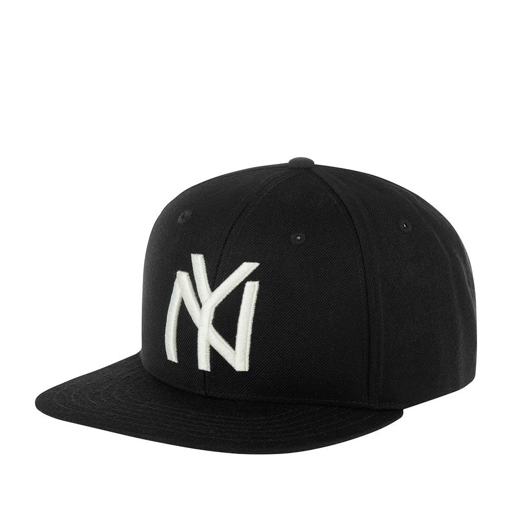 Бейсболка AMERICAN NEEDLE арт. 21006A-NBY New York Black Yankees Archive 400 NL (черный)