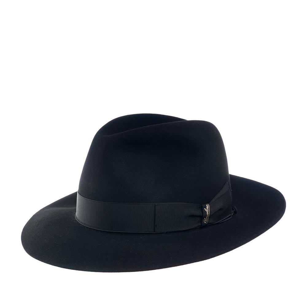 Шляпа BORSALINO арт. 390298 ALESSANDRIA (темно-синий)