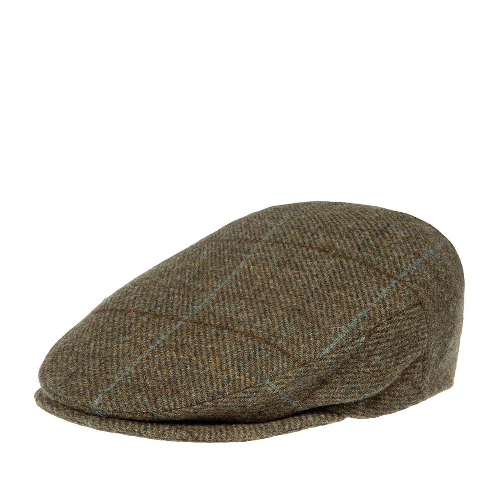 Кепка LAIRD арт. TWEED FLAT CAP  (зеленый)