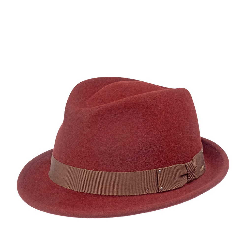 Шляпа BAILEY арт. 7016 WYNN (бордовый)