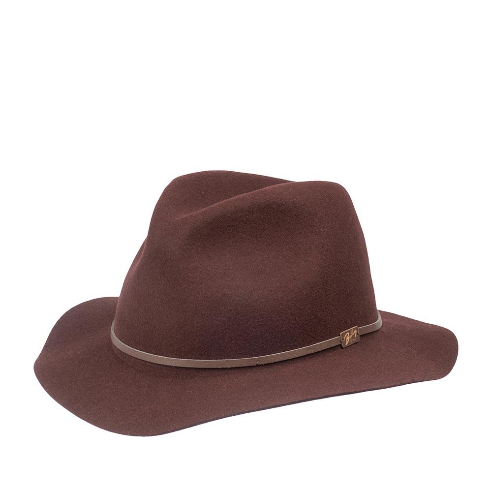 Шляпа BAILEY арт. 1369 JACKMAN (бордовый)