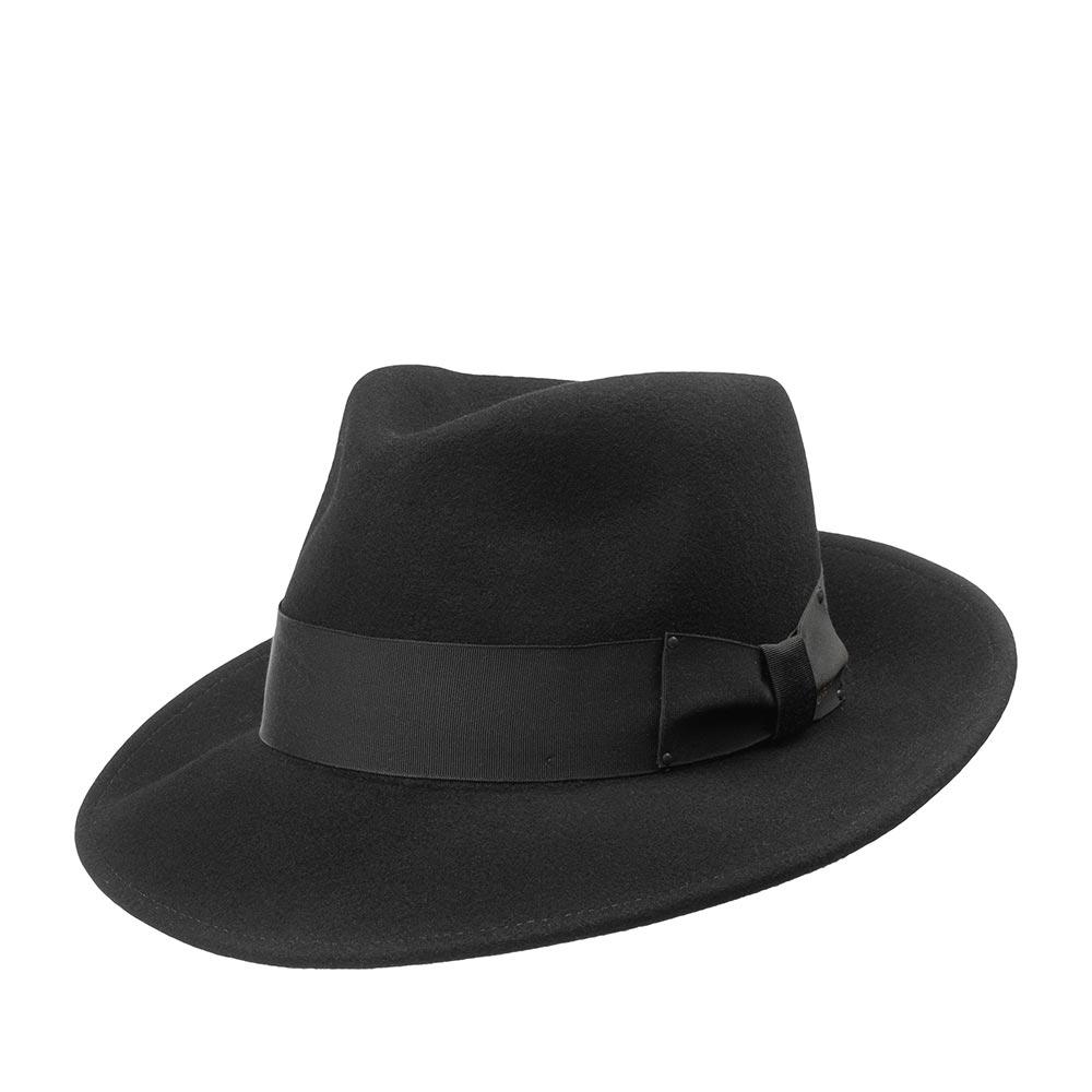 Шляпа BAILEY арт. 7002 FEDORA (черный)