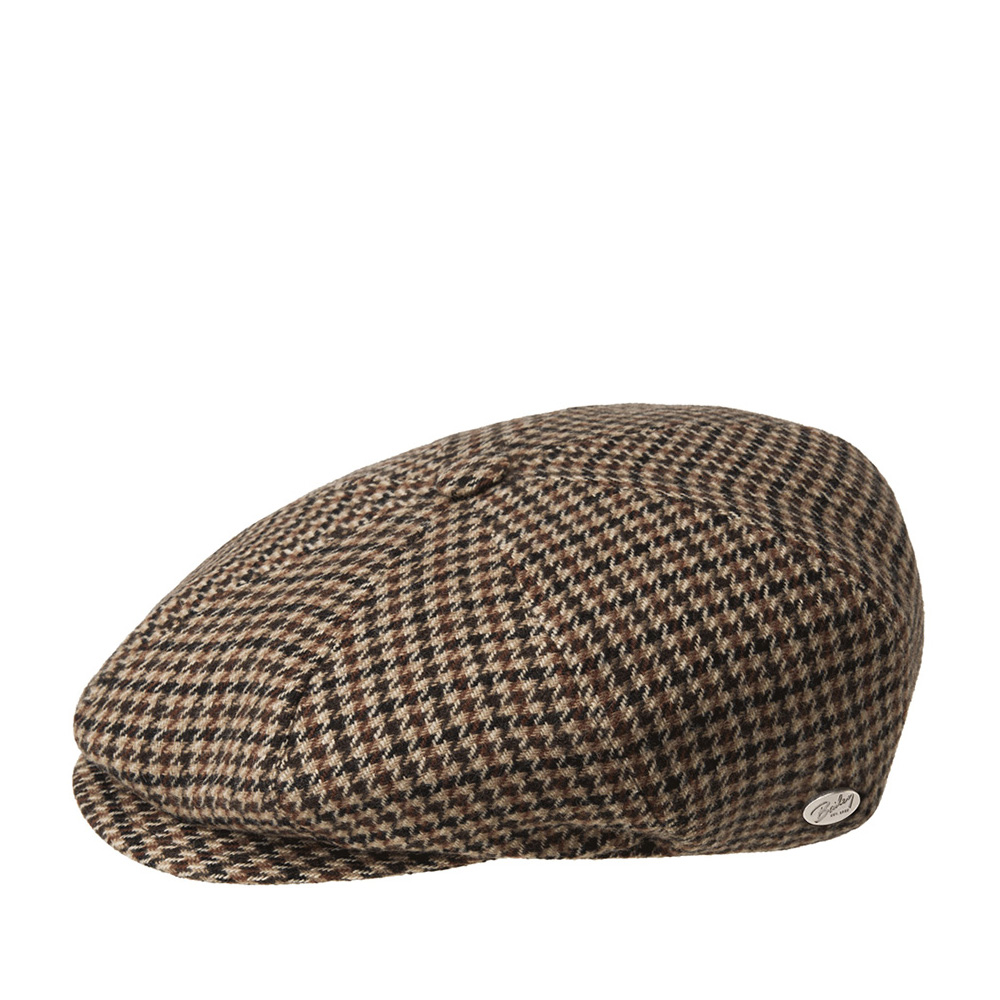 Кепка BAILEY арт. 25220 GALVIN PLAID (коричневый)
