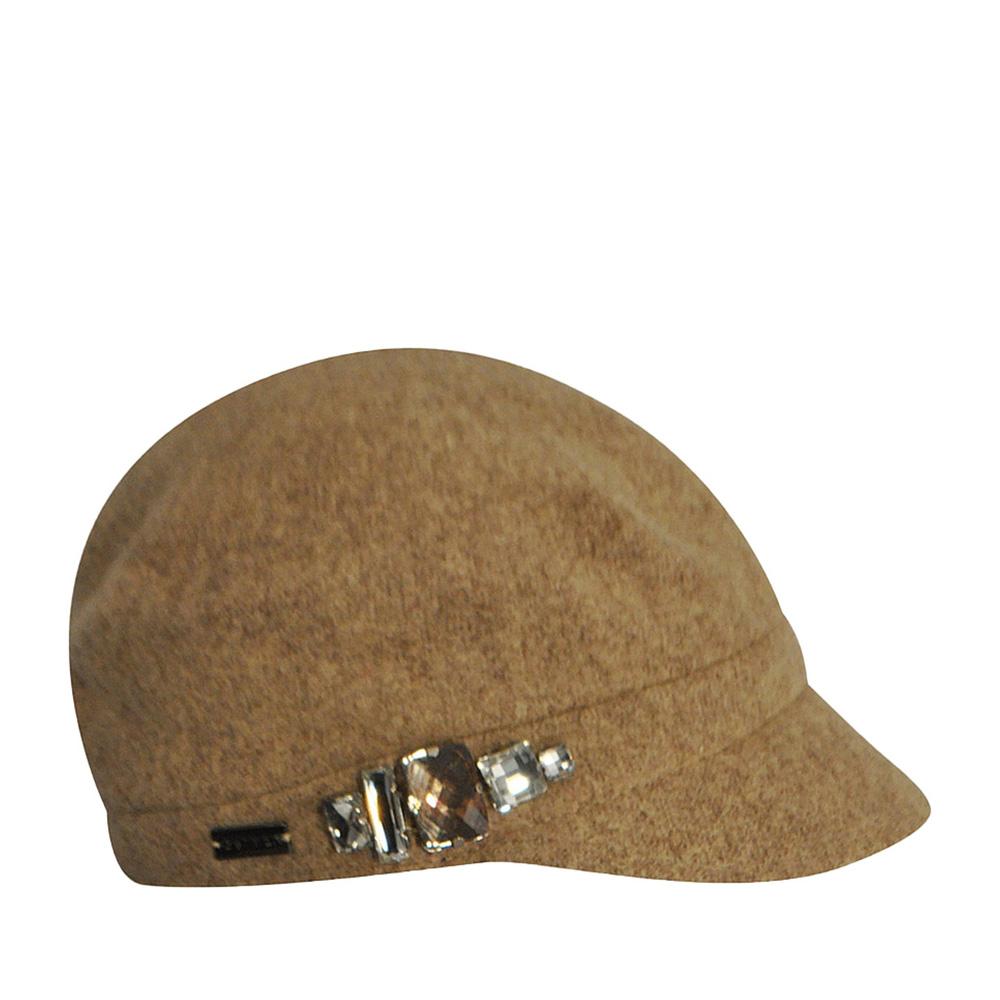 Кепка BETMAR арт. B521 RHINESTONE CAP (бежевый) {camel}