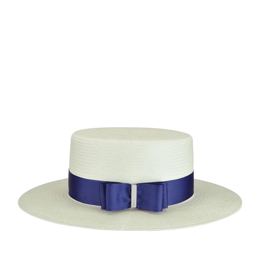 Шляпа BETMAR арт. B1706H ESTHER (белый / синий)