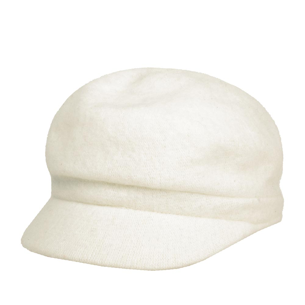 Кепка BETMAR арт. B1794H CRYSTAL CAP (белый) {winter white}