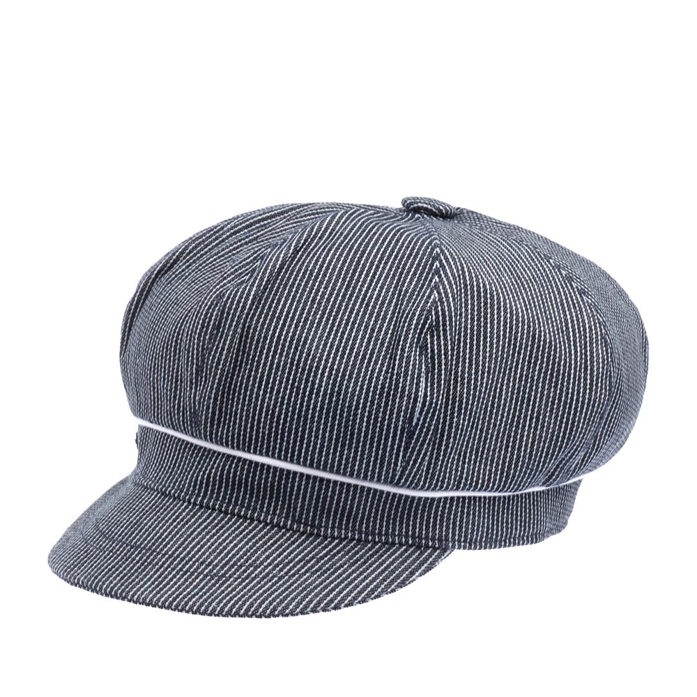 Кепка BETMAR арт. B1845H SAILOR CAP (синий) {pinstripes}