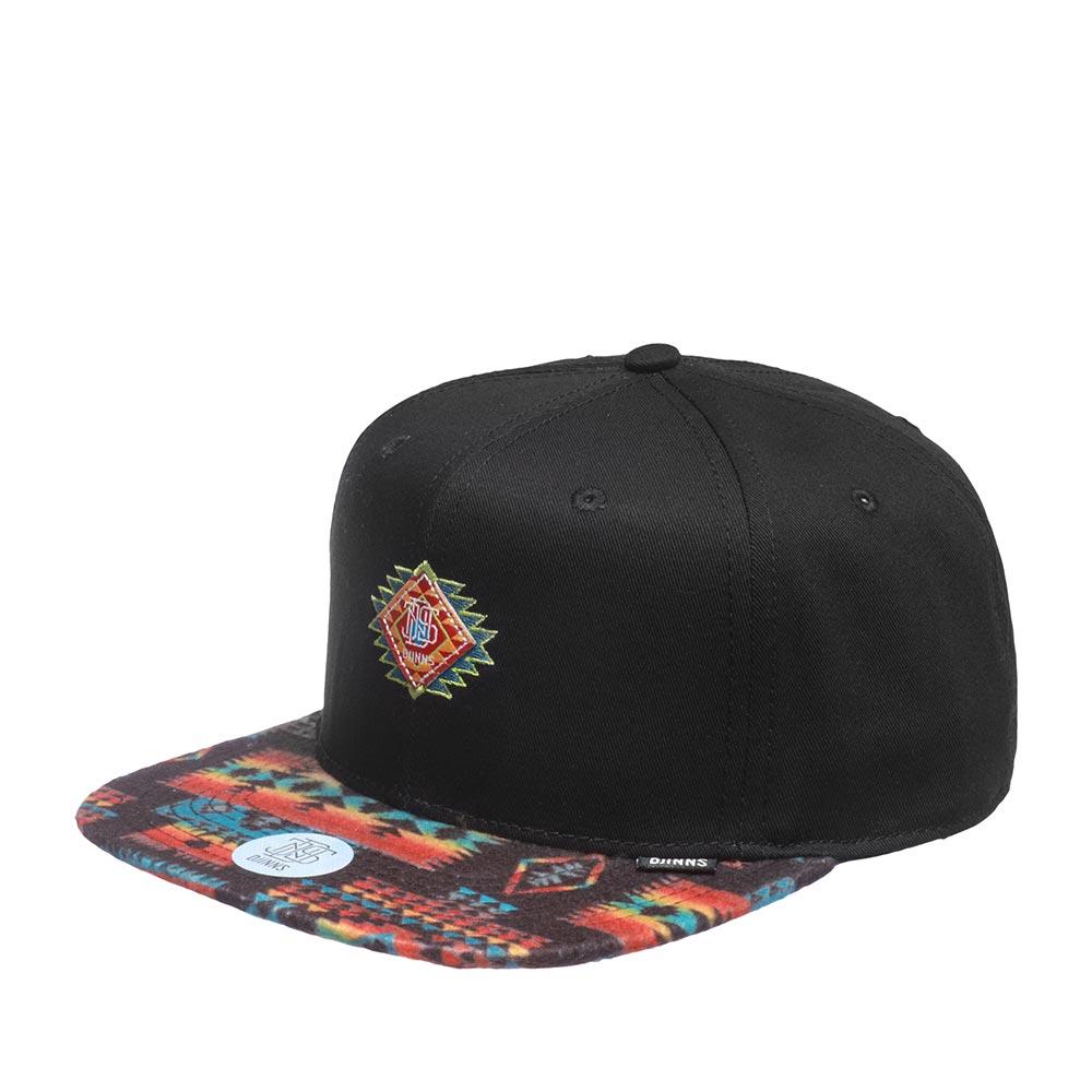 Бейсболка DJINNS арт. 6P SB Aztek Crown (черный)