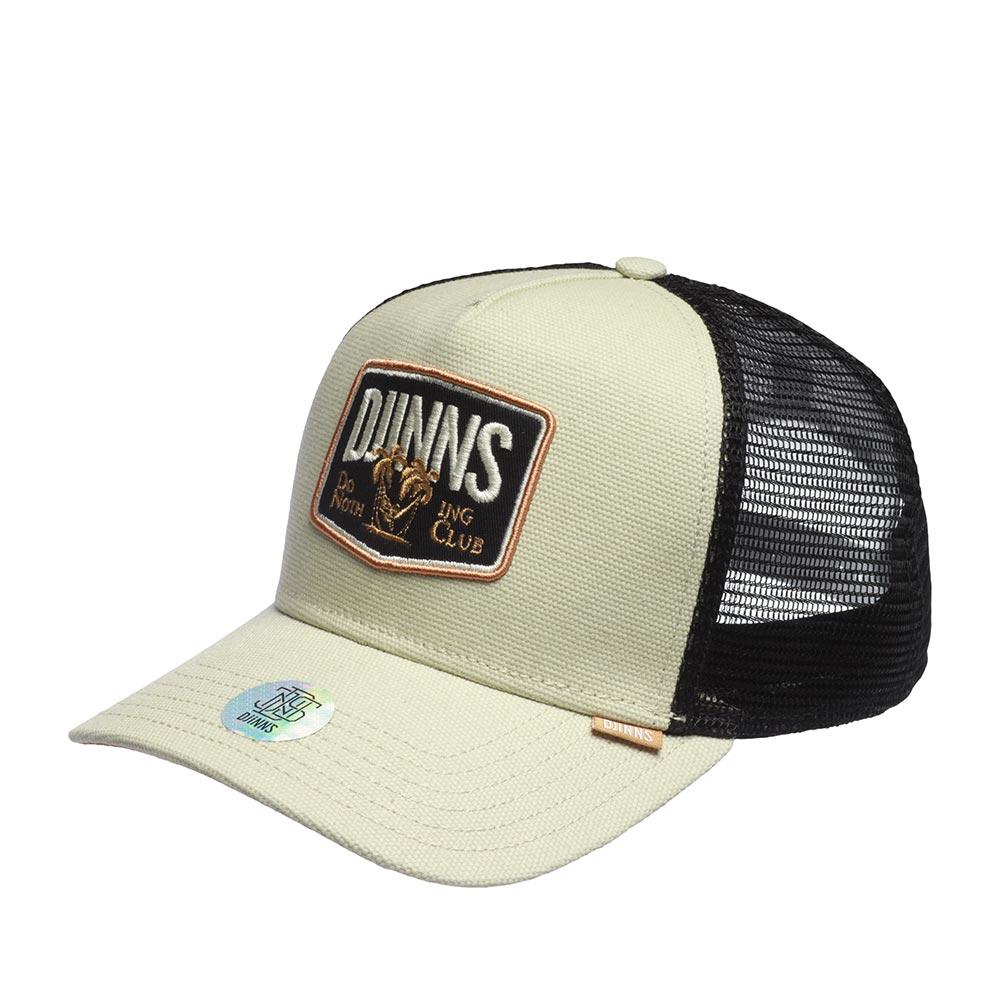 Бейсболка DJINNS арт. HFT Cap Nothing Club (светло-серый)