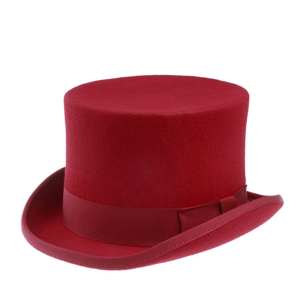 Шляпа CHRISTYS арт. FASHION TOP HAT cwf100006 (красный)