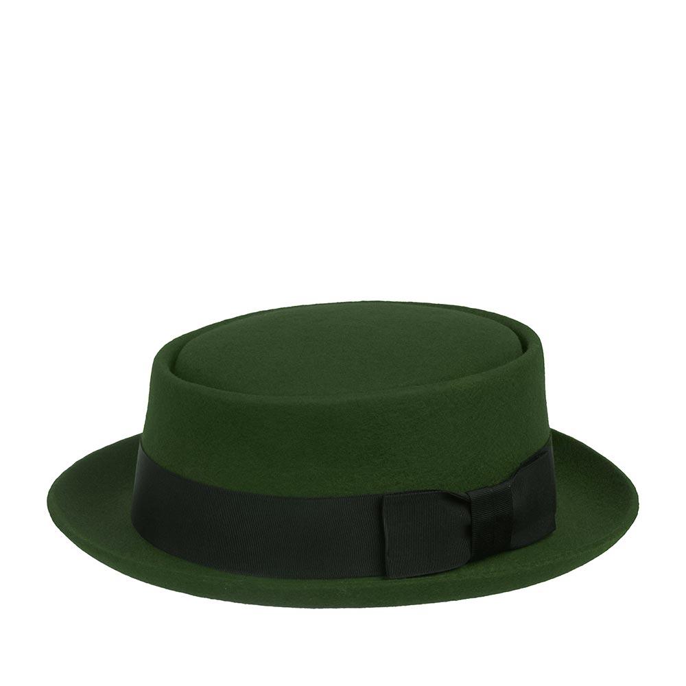 Шляпа CHRISTYS арт. PORK PIE cwf100078 (зеленый)