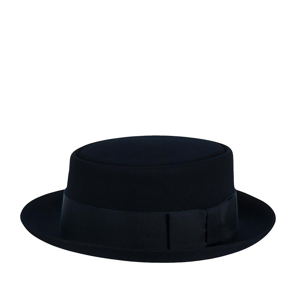 Шляпа CHRISTYS арт. PORK PIE cwf100078 (темно-синий)