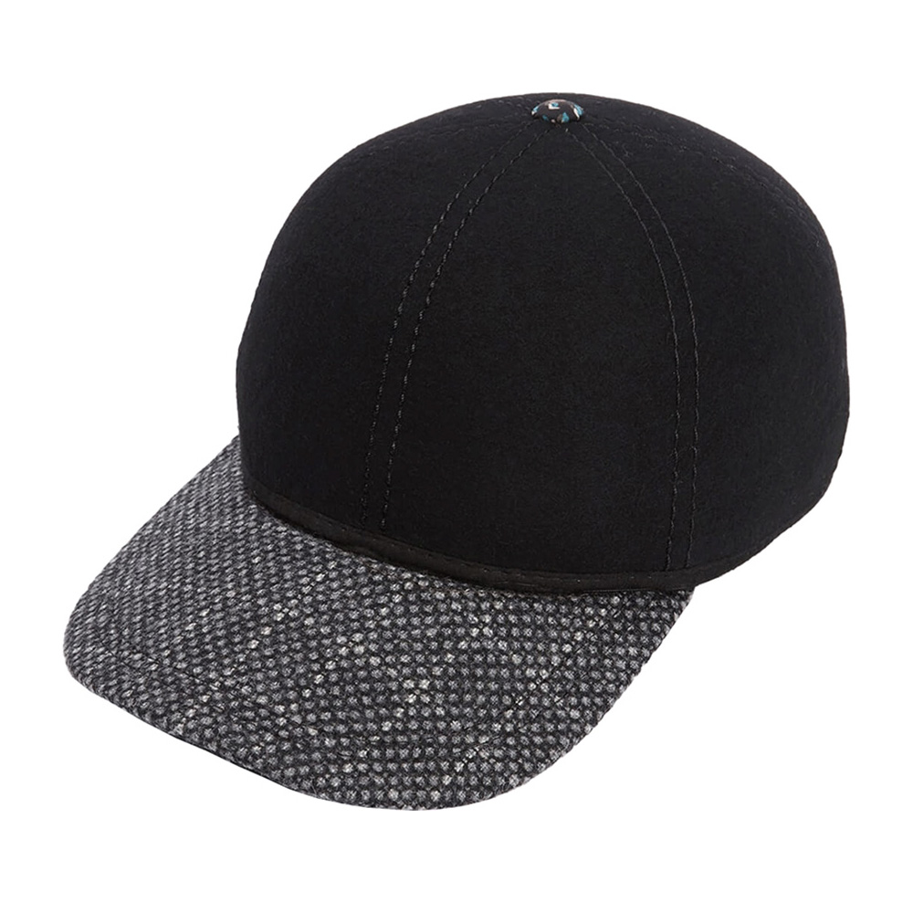 Бейсболка CHRISTYS арт. KIT BALL CAP TWEED csk100372 (черный)