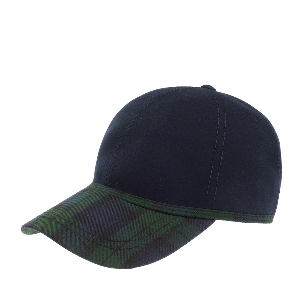 Бейсболка CHRISTYS арт. KIT BALL CAP TWEED csk100372 (синий / зеленый)