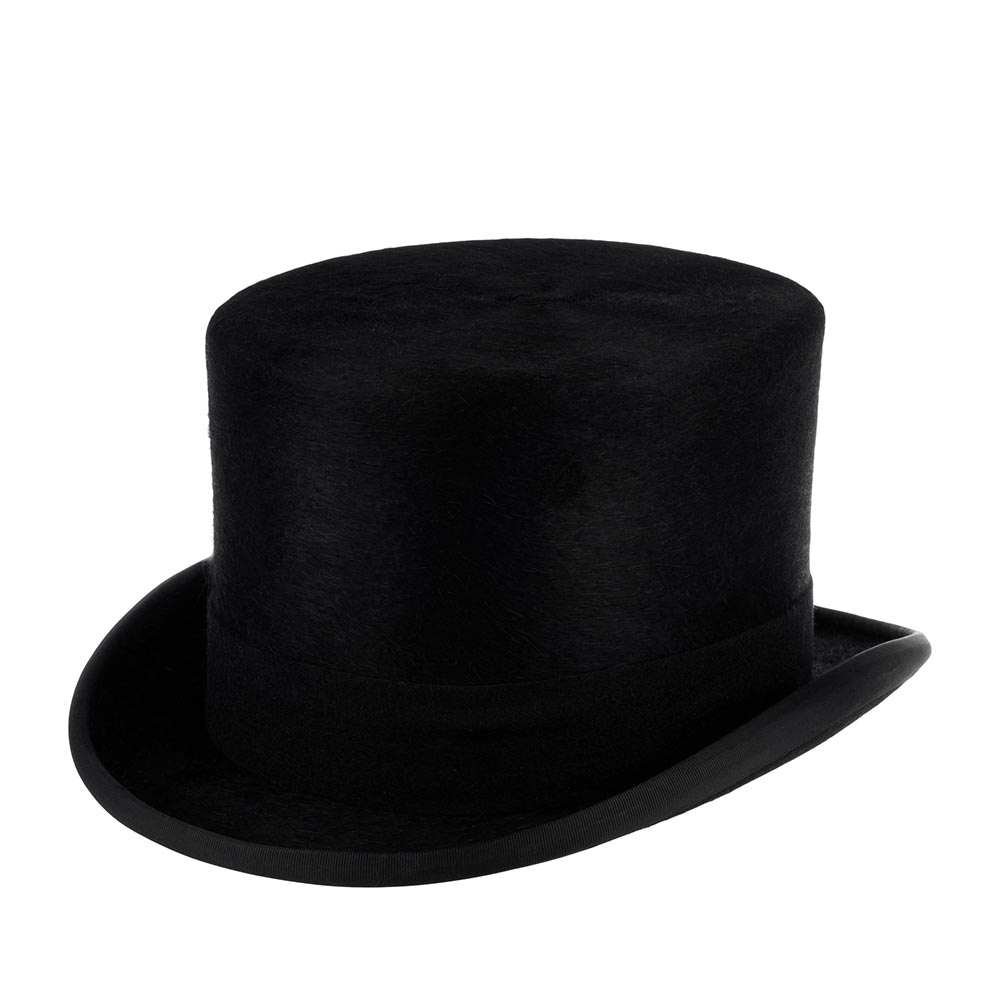 Шляпа CHRISTYS арт. FUR MELUSINE TOP HAT cst100005 (черный)