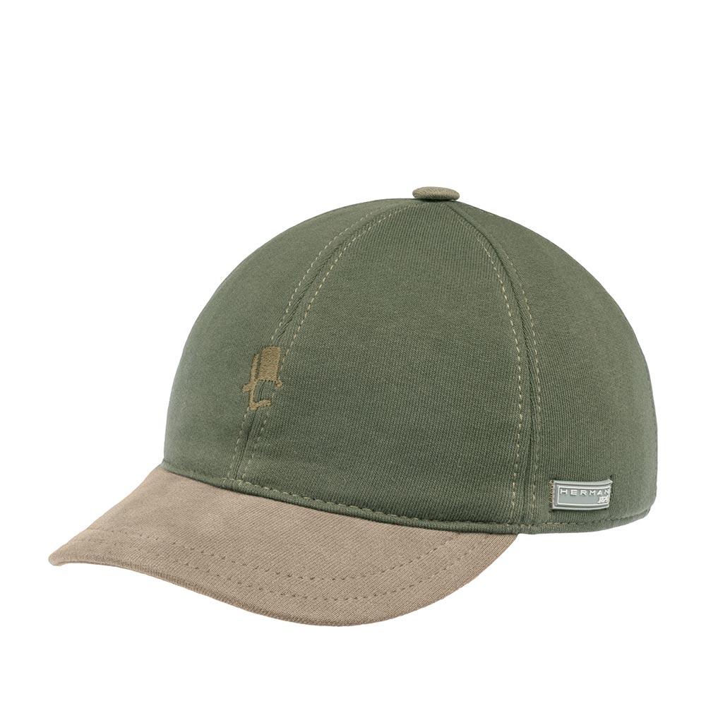 Бейсболка HERMAN арт. CONQUEST SWEAT (зеленый)