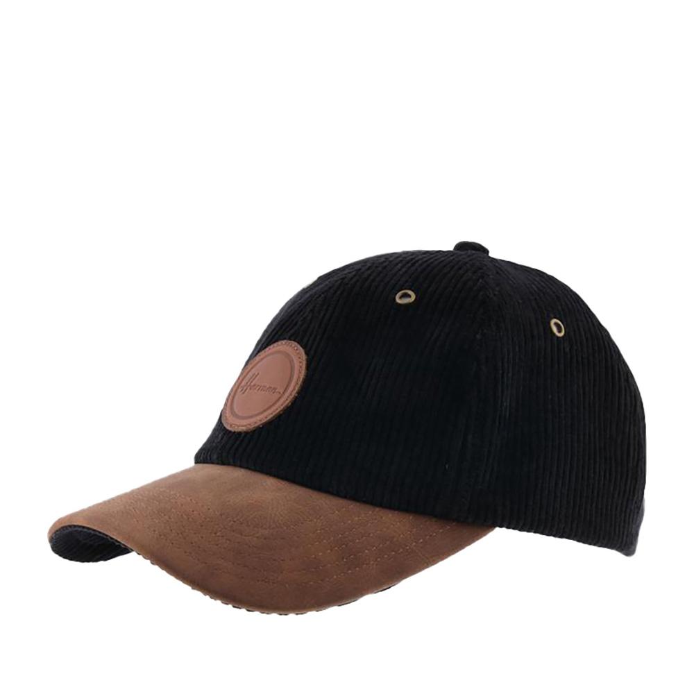 Бейсболка HERMAN арт. CONQUEST 001 (черный)