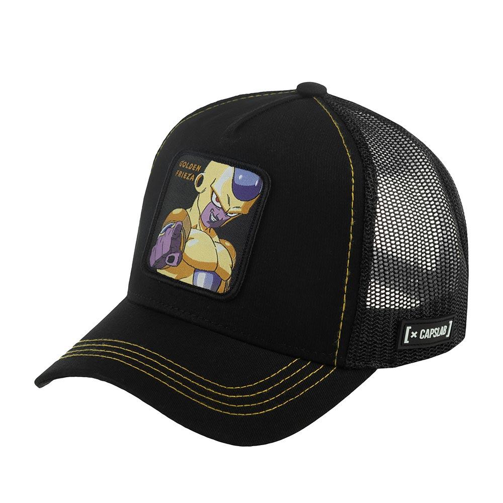 Бейсболка CAPSLAB арт. CL/DBSB1/1/FRI3 Dragon Ball Frieza (черный / желтый)