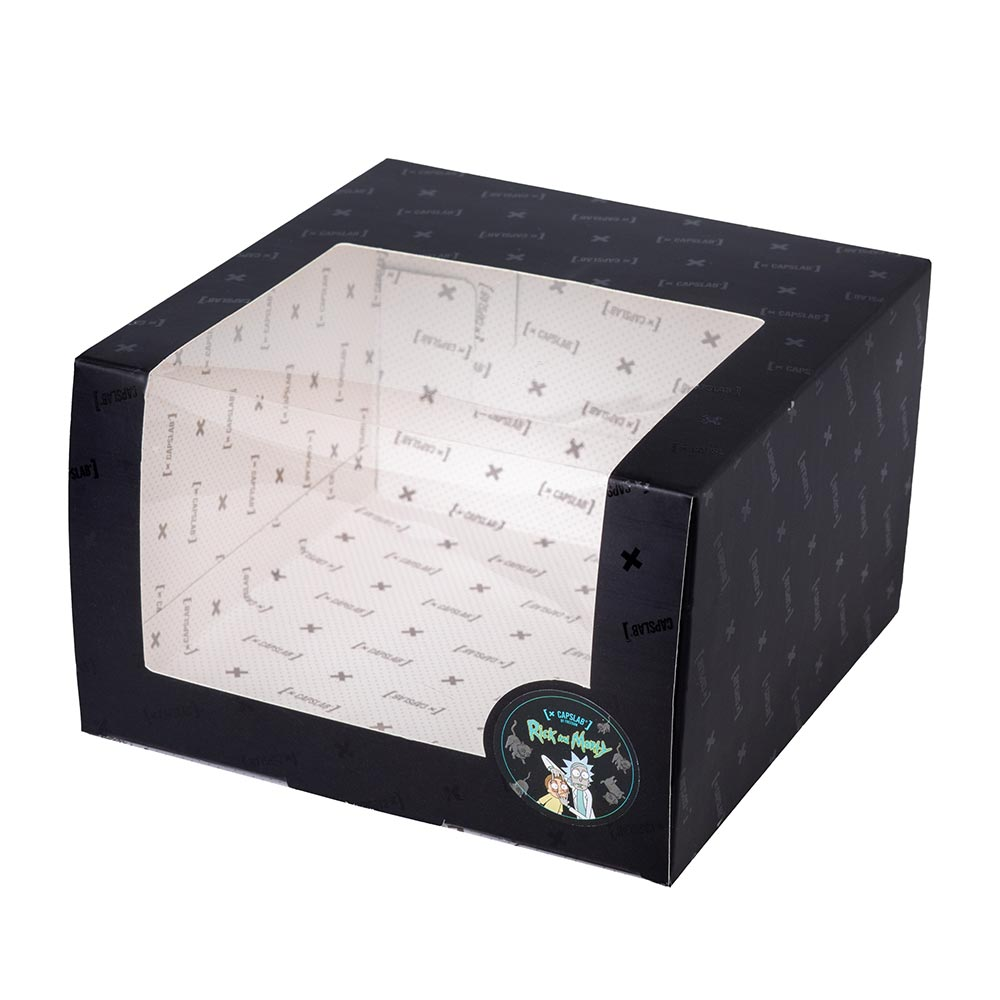 Коробка CAPSLAB арт. Present Box Rick and Morty (черный)