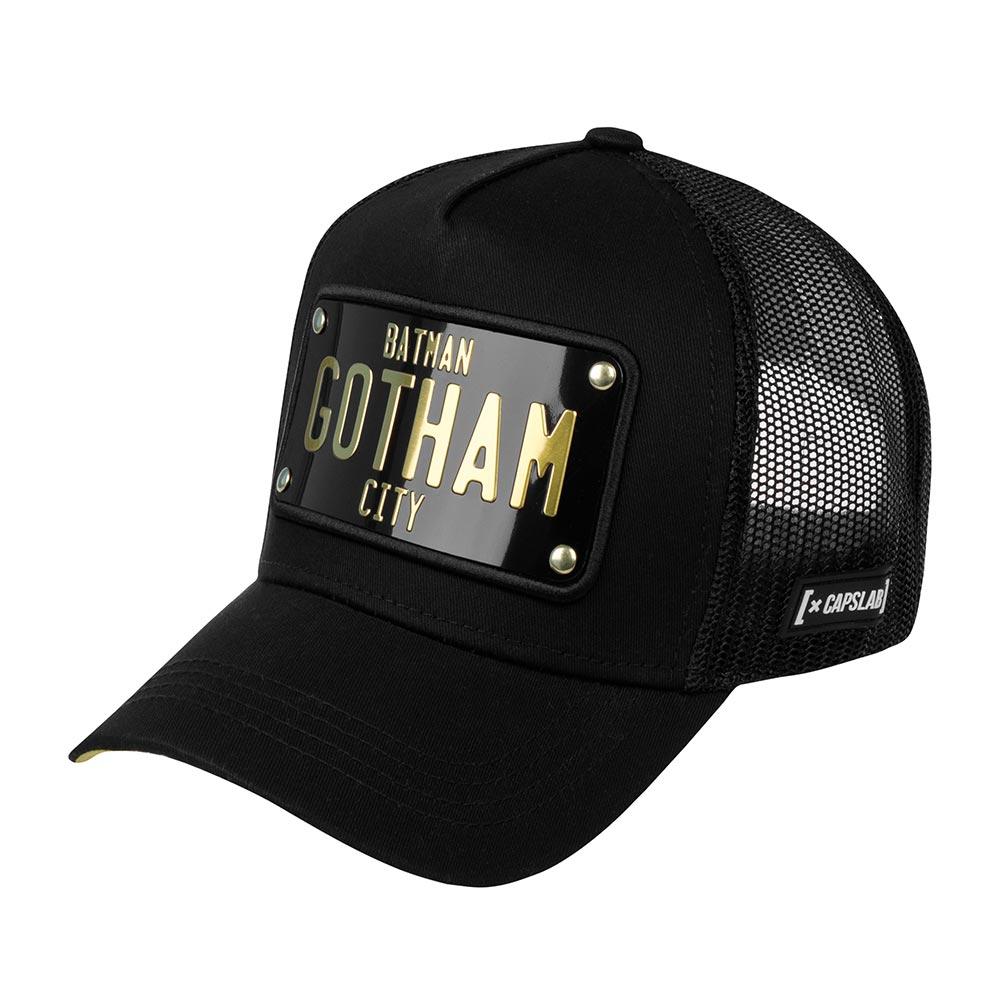 Бейсболка CAPSLAB арт. CL/DC2/1/BATP1 DC Comics Gotham (черный)