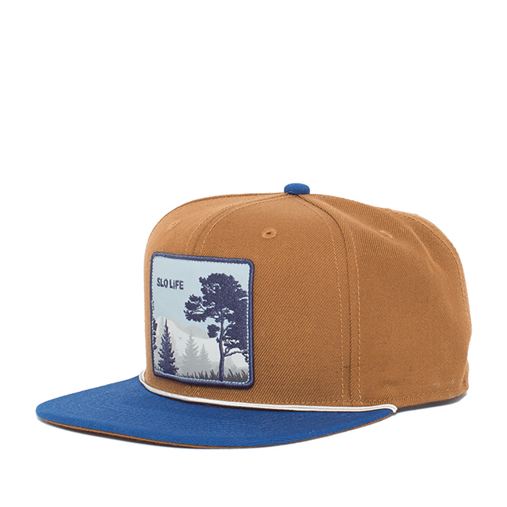 Бейсболка GOORIN BROTHERS арт. 101-0319 (коричневый / синий)