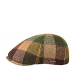 Кепка STETSON арт. 6620303 HIKO LAMBSWOOL (коричневый / зеленый)
