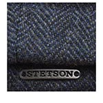 Кепка STETSON арт. 6840514 HATTERAS WOOLRICH (синий / серый)