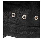 Кепка STETSON арт. 7497105 ARMY CAP PIGSKIN (черный)
