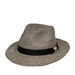Шляпа STETSON арт. 2478511 TRAVELLER TOYO (светло-серый) {17}