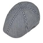 Кепка STETSON арт. 6611704 TEXAS HICKORY STRIPE (серый)