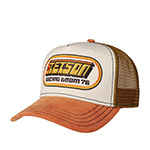 Бейсболка STETSON арт. 7751133 TRUCKER CAP RACING (коричневый)